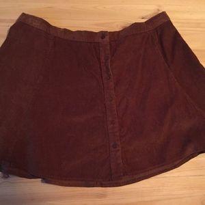Joe Boxer Corduroy Skirt